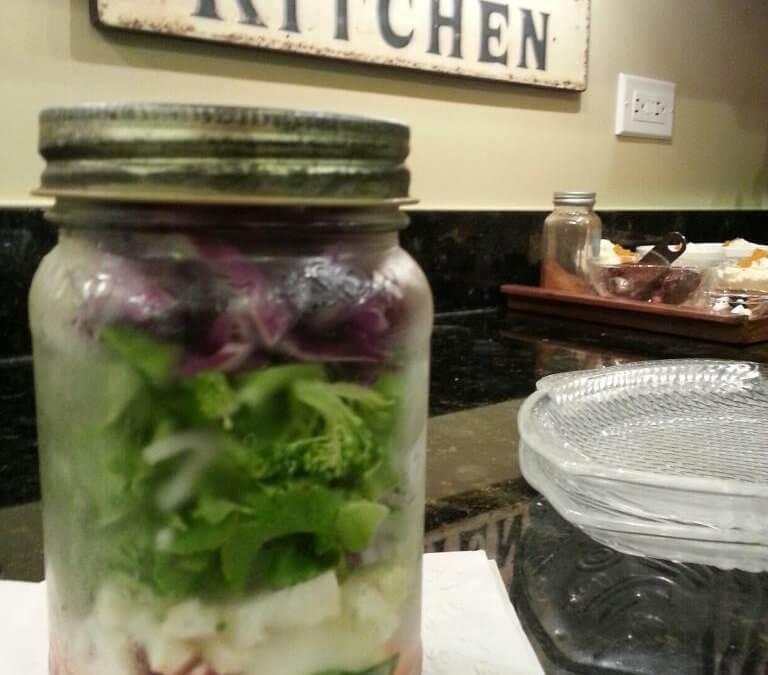 """""""Salad Jar Daze"""""""