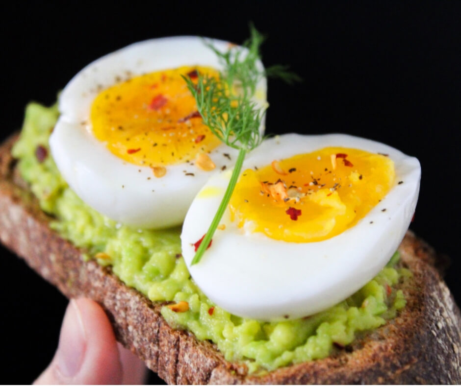 boiled egg on toast eating everything in moderation