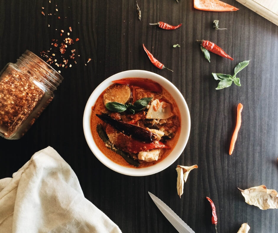 curry bowl cultural foods for breast cancer diet